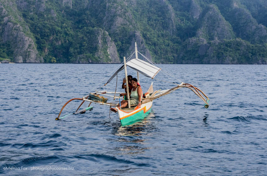 Fisher man in Coron