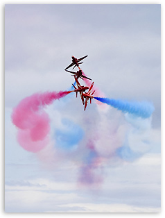 airshow photography - Red Arrows