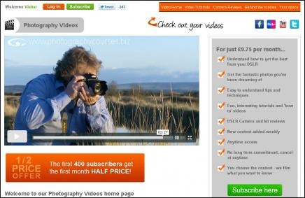 Photography videos launch pr image