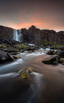 Low light photography Iceland