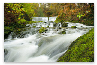 Landscape photography tips - waterfall